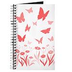 Pink Butterfly Journal