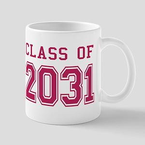 Class of 2031 (Pink) Mug