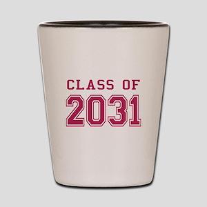 Class of 2031 (Pink) Shot Glass