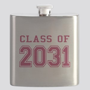 Class of 2031 (Pink) Flask