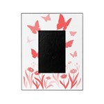 Pink Butterfly Picture Frame