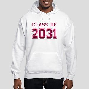 Class of 2031 (Pink) Hooded Sweatshirt