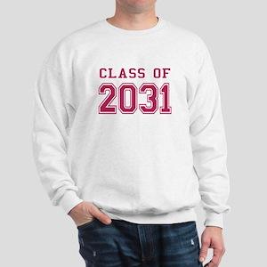 Class of 2031 (Pink) Sweatshirt