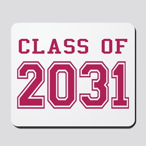 Class of 2031 (Pink) Mousepad