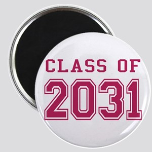 Class of 2031 (Pink) Magnet
