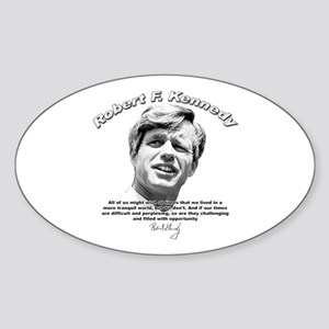 Robert F. Kennedy 01 Oval Sticker