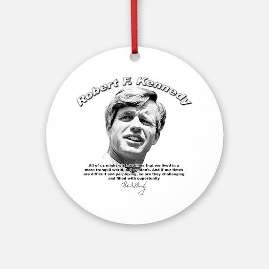 Robert F. Kennedy 01 Ornament (Round)