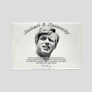 Robert F. Kennedy 01 Rectangle Magnet