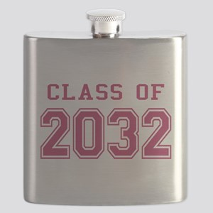 Class of 2032 (Pink) Flask