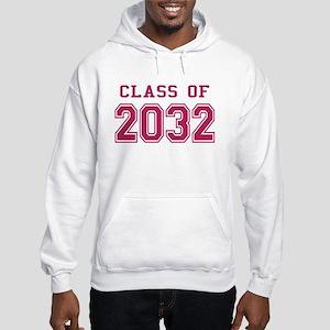 Class of 2032 (Pink) Hooded Sweatshirt