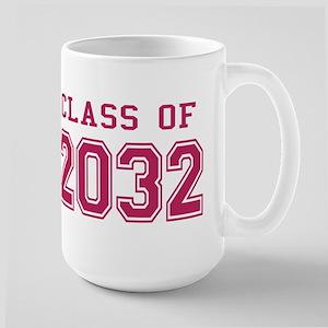 Class of 2032 (Pink) Large Mug