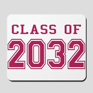 Class of 2032 (Pink) Mousepad