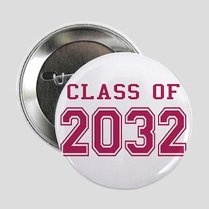 "Class of 2032 (Pink) 2.25"" Button"