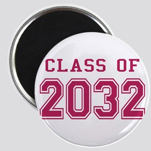 Class of 2032 (Pink) Magnet