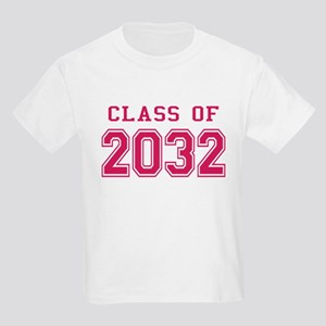 Class of 2032 (Pink) Kids Light T-Shirt