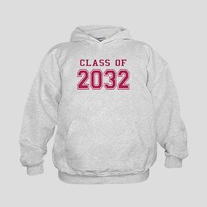 Class of 2032 (Pink) Kids Hoodie