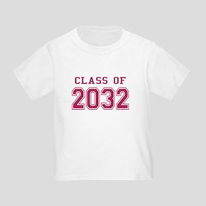 Class of 2032 (Pink) Toddler T-Shirt