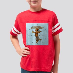 lhlederclock2 Youth Football Shirt