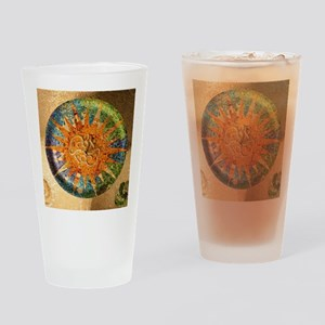 Park Guell Barcelona Drinking Glass
