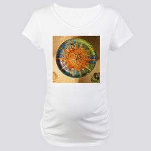 Park Guell Barcelona Maternity T-Shirt