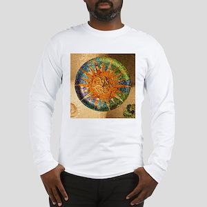 Park Guell Barcelona Long Sleeve T-Shirt