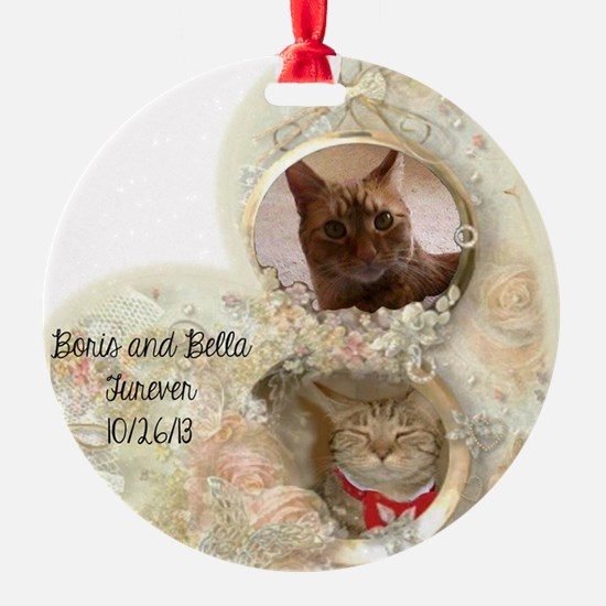 Boris and Bella forever Ornament