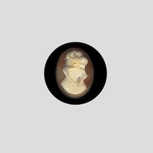 Cameo Brooch Mini Button