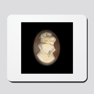 Cameo Brooch Mousepad