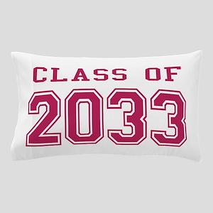 Class of 2033 (Pink) Pillow Case