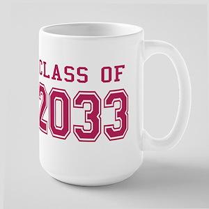 Class of 2033 (Pink) Large Mug