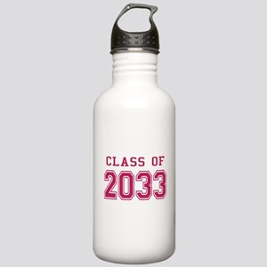 Class of 2033 (Pink) Stainless Water Bottle 1.0L