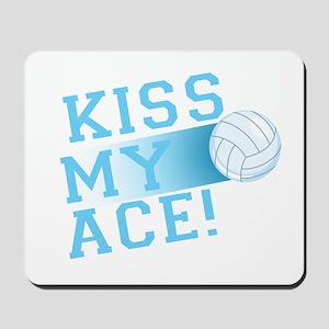 KissMyAce(volleyball) copy Mousepad