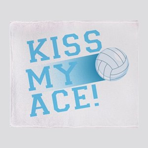 KissMyAce(volleyball) copy Throw Blanket