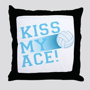 KissMyAce(volleyball) copy Throw Pillow