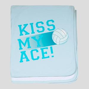 KissMyAce(volleyball) copy baby blanket