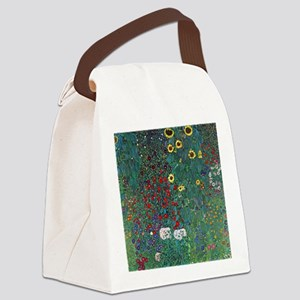 Farmergarden Sunflower by Klimt Canvas Lunch Bag