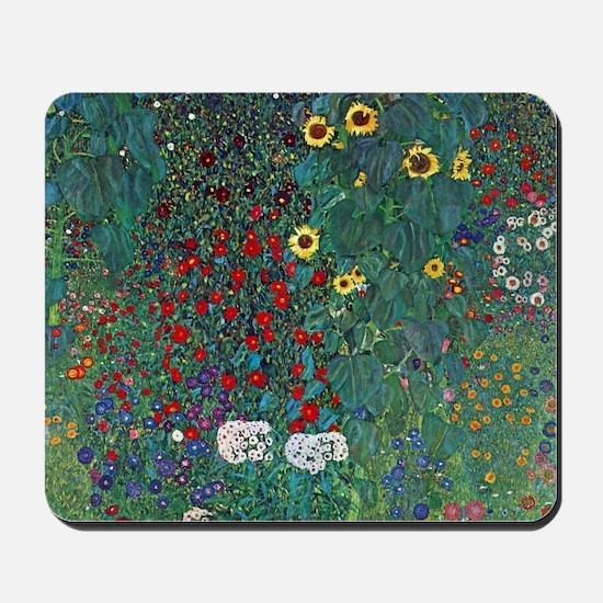 Farmergarden Sunflower by Klimt Mousepad