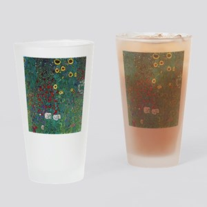 Farmergarden Sunflower by Klimt Drinking Glass