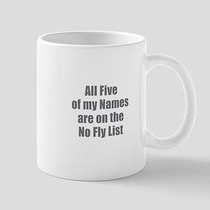 No Fly List Mugs