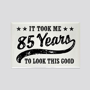 Funny 85th Birthday Rectangle Magnet