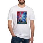 Slippery Shark Fitted T-Shirt