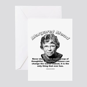 Margaret Mead 01 Greeting Cards (Pk of 10)