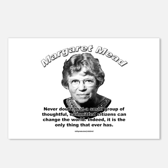 Margaret Mead 01 Postcards (Package of 8)