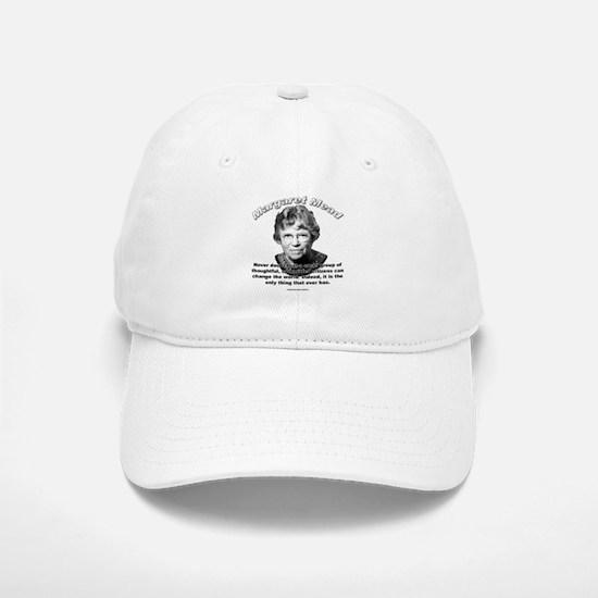 Margaret Mead 01 Baseball Baseball Cap