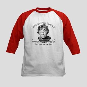 Margaret Mead 01 Kids Baseball Jersey