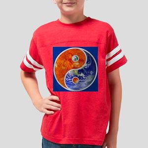 YIN-YANG SUN EARTH Youth Football Shirt