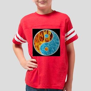 YIN-YANG FIRE WATER Youth Football Shirt