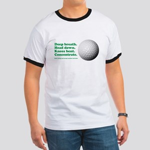 Funny How to Play Golf Shirt Design T-Shirt