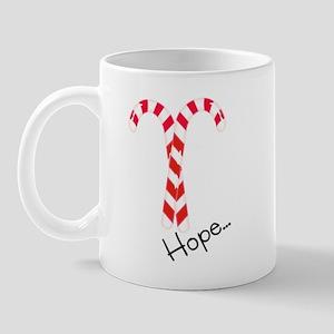 Christmas Candy Canes: Hope Mug