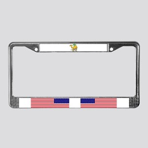 Cute camel License Plate Frame